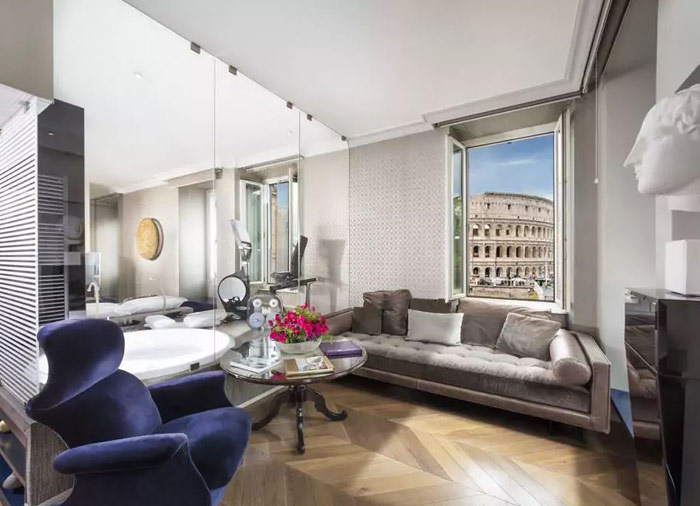 Palazzo Manfredi Hotel – Rome honeymoon packages with Travelive, Italian Classics luxury