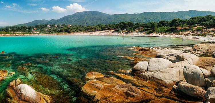 Karydi beach