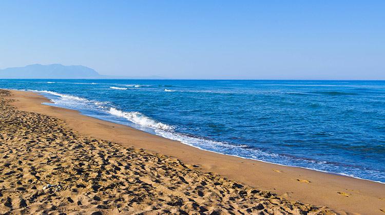 Zacharo beach