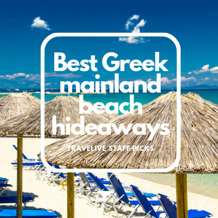Best mainland beaches Greece - Travelive Blog