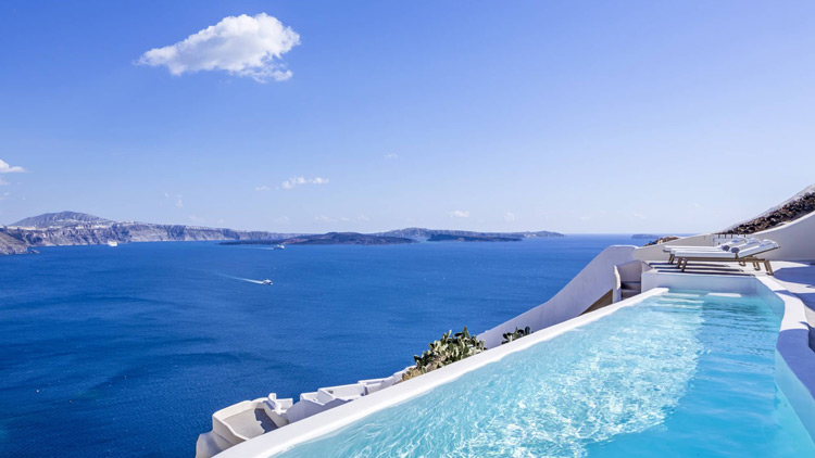 Canaves Oia Villa - Travelive Blog
