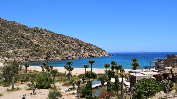 Private Beach - Calilo Hotel, Ios