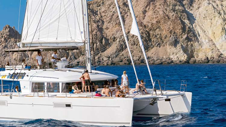 Semi Private Excursion Around Santorini with Sunset Oia Sailing Cruises