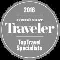 Conde Nast Traveler 2016