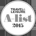 Travel + Leisure A-List 2015