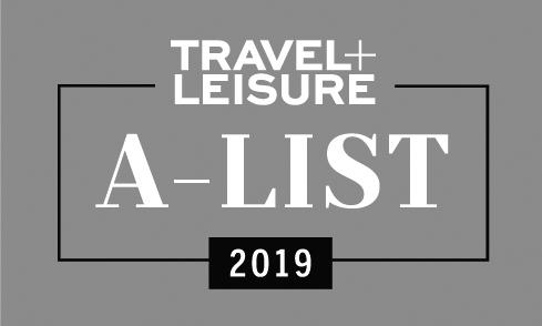 Travel + Leisure A-List 2019