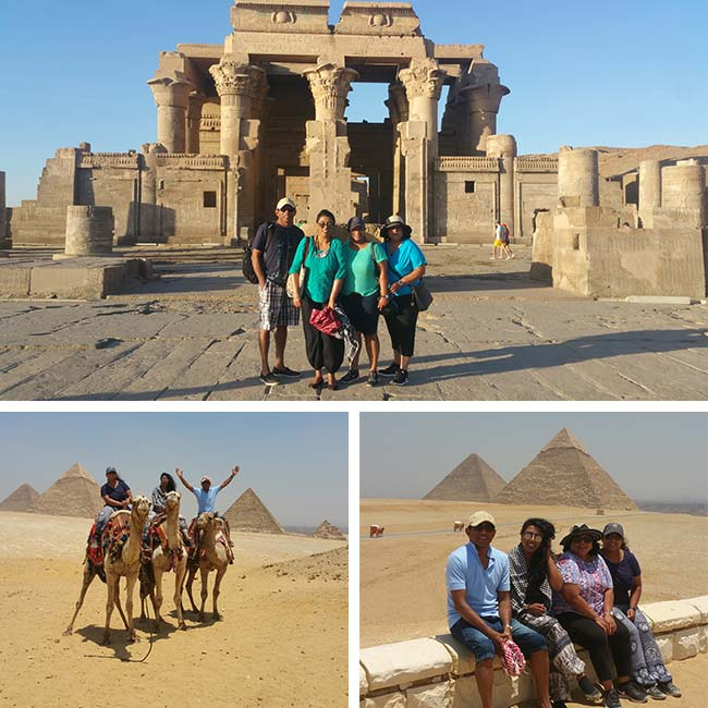 Balasingham & Family in Egypt - Travelive Reviews