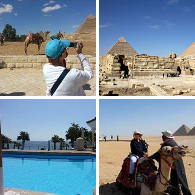 Marie, Hassan, Carol & Mary in Egypt - Travelive Reviews