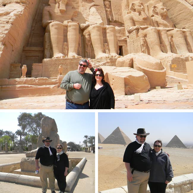 Mary & Mark in Cairo, Egypt - Travelive Reviews