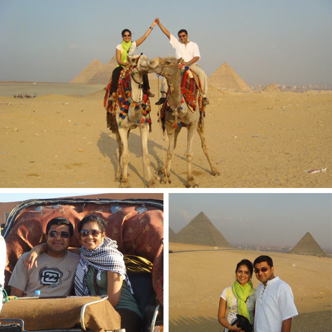 Sourav & Trina in Egypt - Travel Reviews