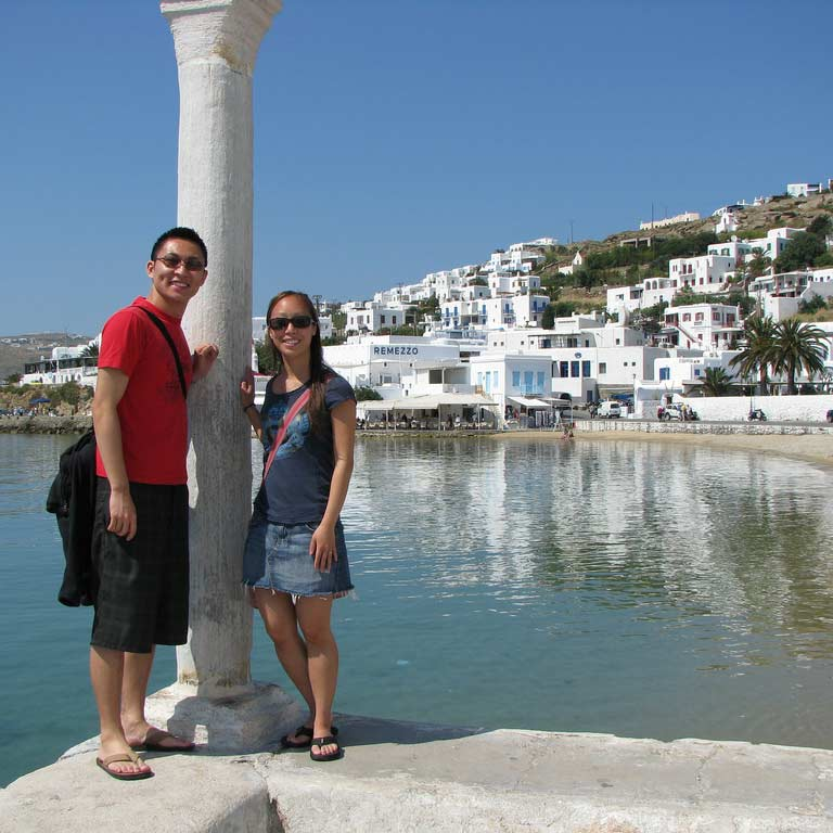 Aline & Brandon in Greece - Travelive Reviews