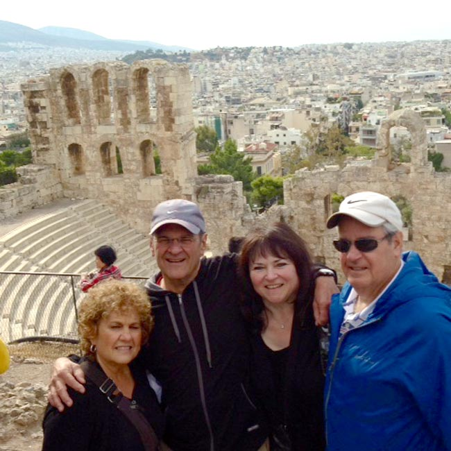 Cecilia & Barb in Greece - Travel Reviews