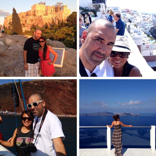 Farrah & David in Greece - Travelive Reviews