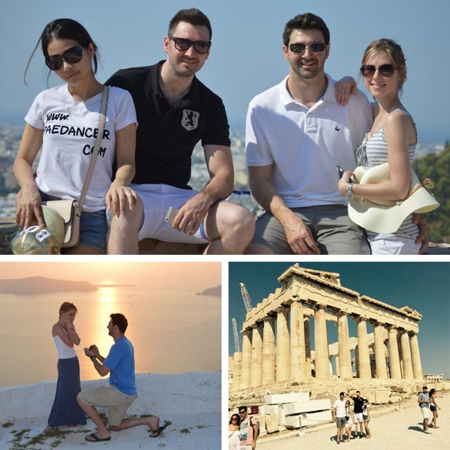George, Alicia, Nicolaos & Nareeya in Greece - Travelive Reviews