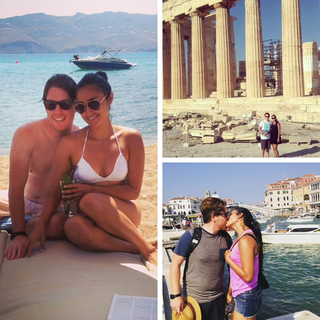 Keilah & Michael in Greece & Italy - Travelive Reviews