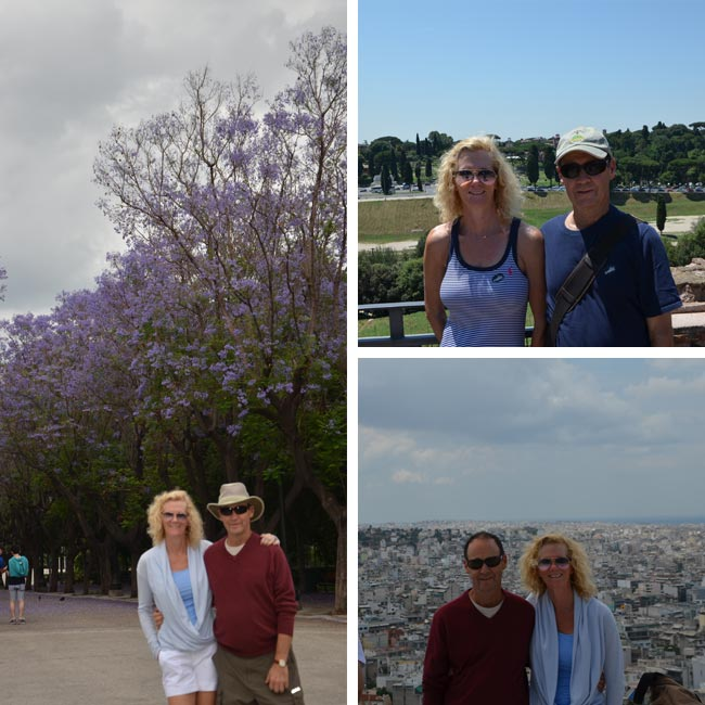 Laura & Alan in Greece and Italy - Travelive Reviews