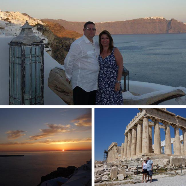 Liliane & Rudy in Greece - Travelive Reviews