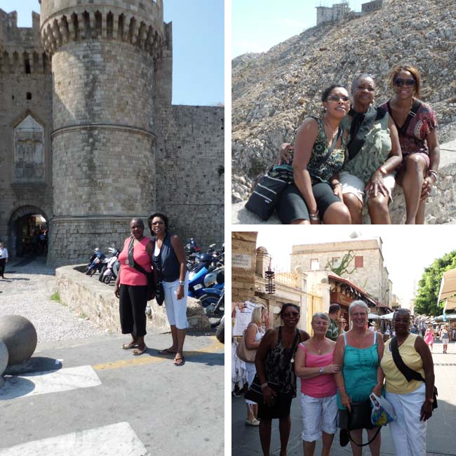 Lorna, Charmine & Kathleen in Greece - Travelive Reviews