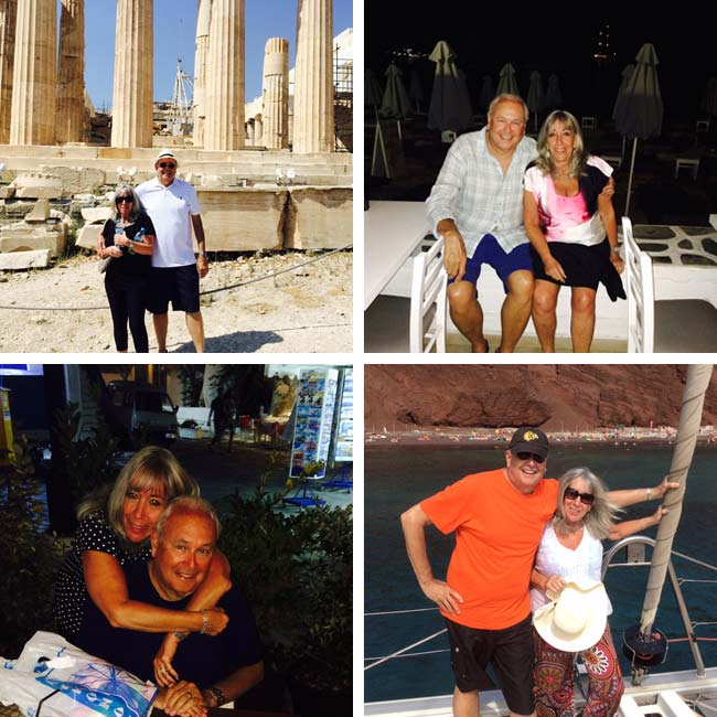 Richard & Pam in Greece - Travel Reviews