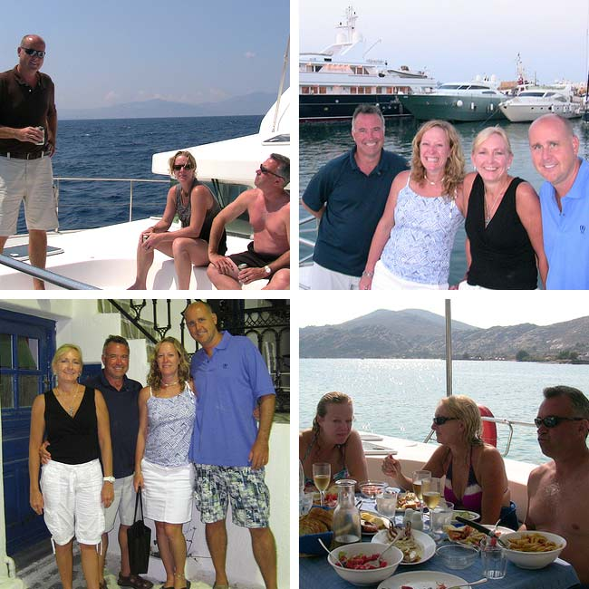 Scott, Sharon, Jeff & Carolyn in Greece - Travel Reviews