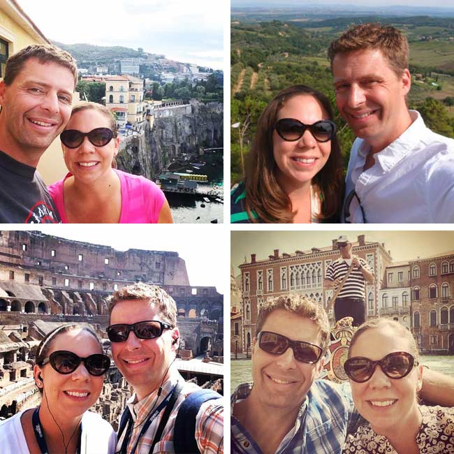 Desiree & Keith in Italy - Travelive Reviews