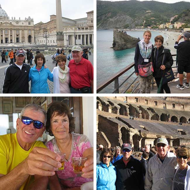 Greg, Merinda, Ann & Ron in Italy - Travelive Reviews