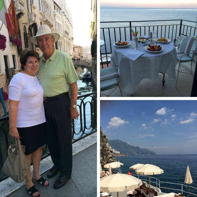 Joe & Sandy in Italy - Travelive Reviews