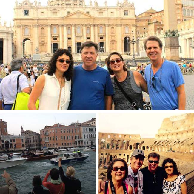 Lisa, Steve, Sandra, & Thomas in Italy - Travelive Reviews
