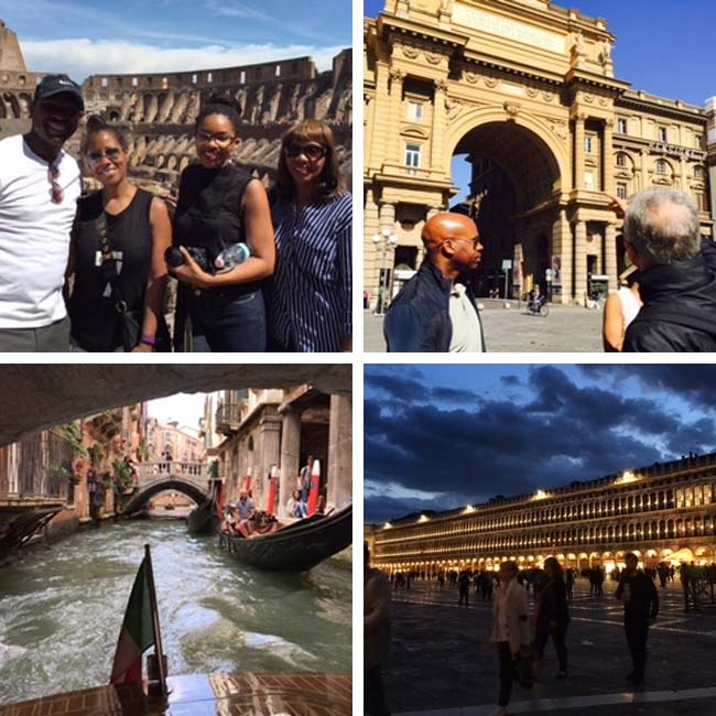 Susan, George, Candace & Pauline in Italy - Travel Reviews