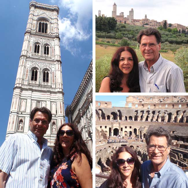 Tina & Gregory in Italy - Travel Reviews