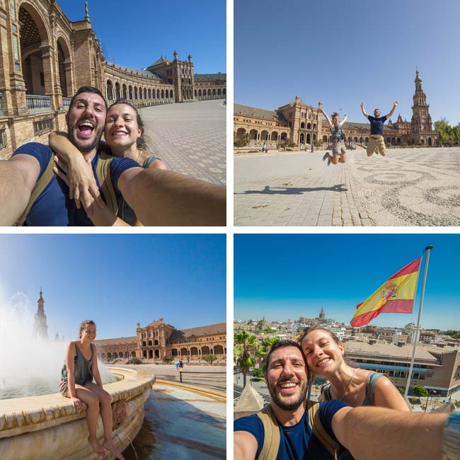 Phillip & Samantha in Seville, Spain - Travel Reviews