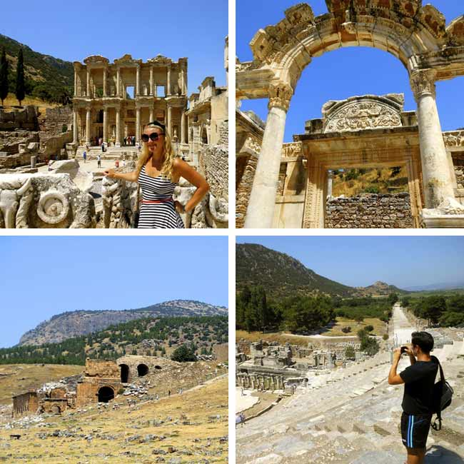 Trish & Joe in Ephesus, Turkey - Travelive Reviews