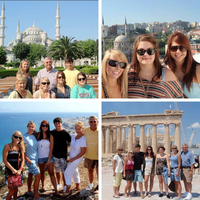 Wilson Family in Greece & Turkey - Travelive Reviews