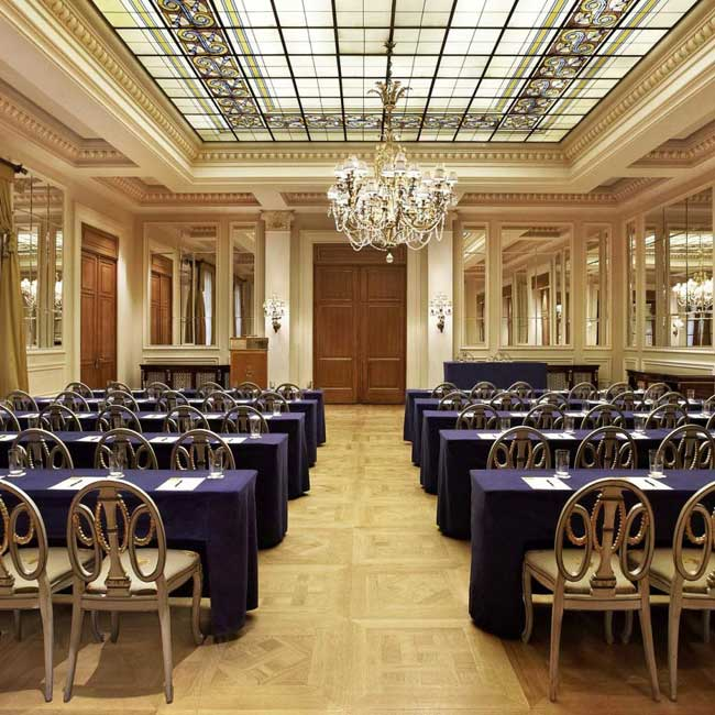 Meeting Room at Grande Bretagne Hotel – Luxury Travel Services by Travelive