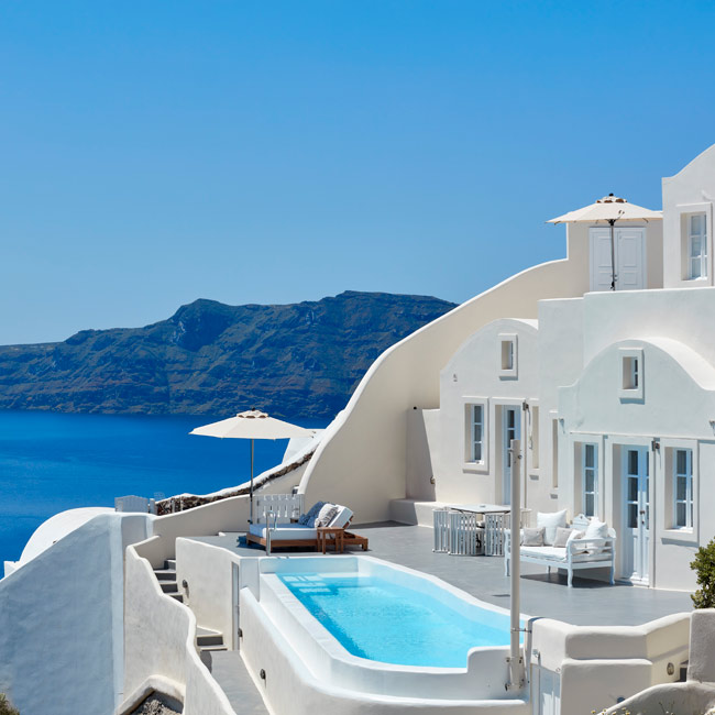 Canaves Oia Villa in Santorini - Luxury Travel Services by Travelive