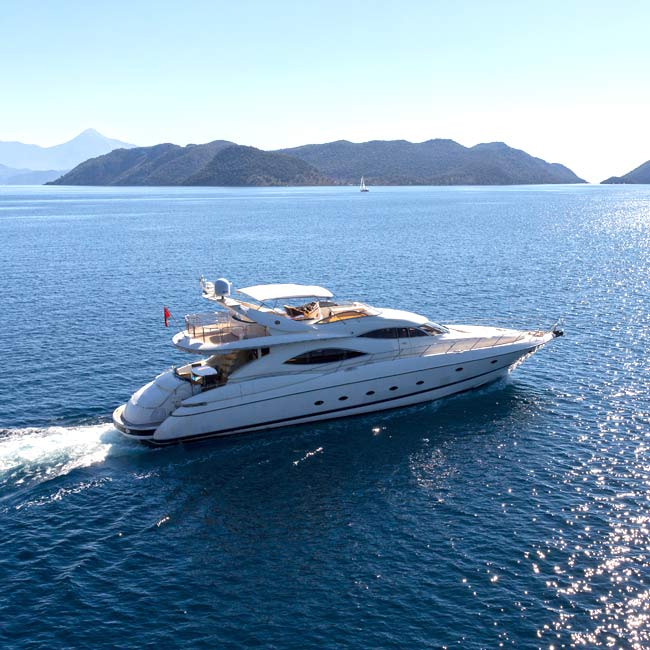 Luxury Yacht in the Mediterranean - Luxury Travel Services by Travelive