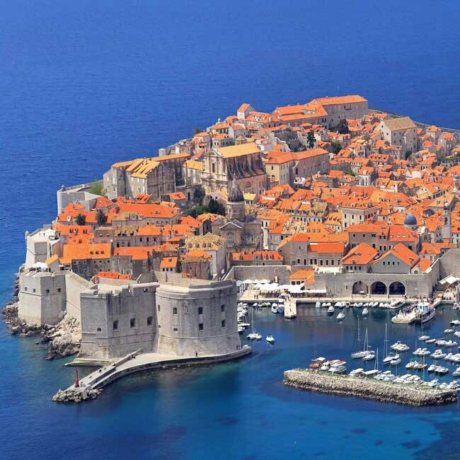 Dubrovnik old city view – Croatian Vacation Packages created by Travelive
