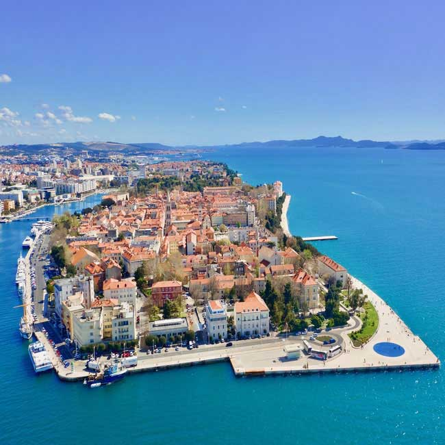 Zadar Old Town – Croatia Luxury  Vacation, Travelive