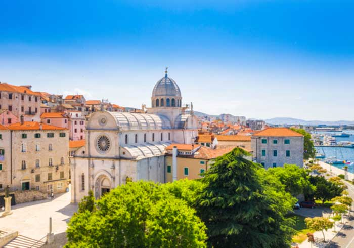 Cathedral of St James in Sibenik UNESCO site – Romantic Croatian honeymoon, Travelive