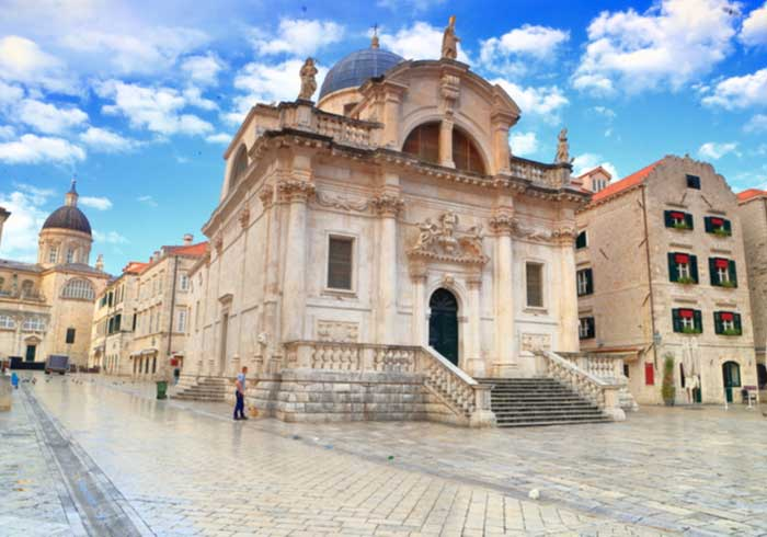 St Blaise Church Dubrovnik – Luxury Croatia Honeymoons created by Travelive