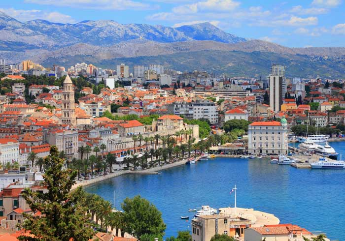 View of Split from Marjan – Luxury Honeymoons in Croatia by Travelive