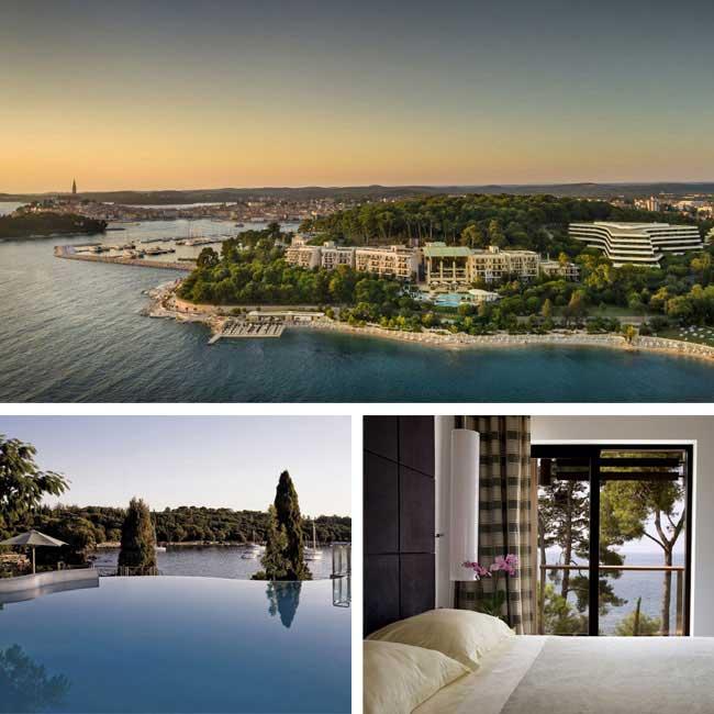 Hotel Monte Mulini - Rovinj Hotels, Travelive