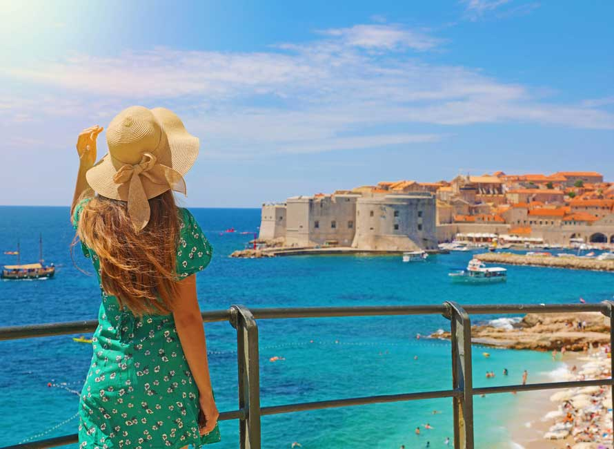 Dubrovnik view of the city – Croatia Vacation Packages by Travelive