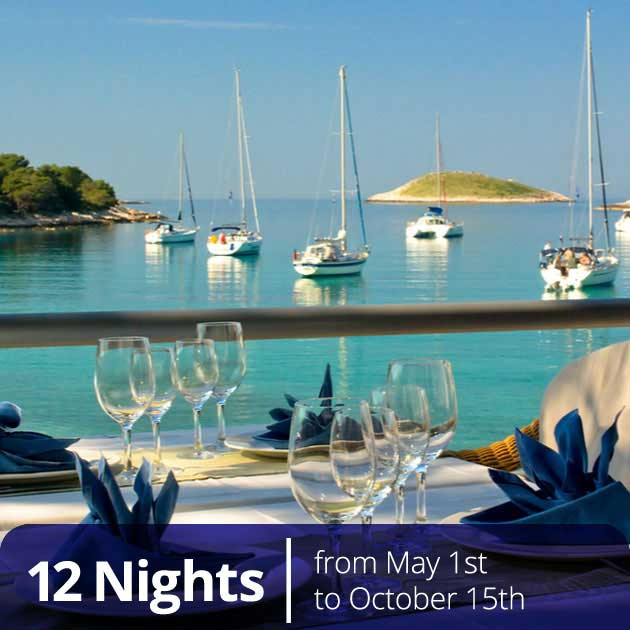 Seaside restaurant in Croatia – Luxury Gastro Vacation in Croatia, Travelive