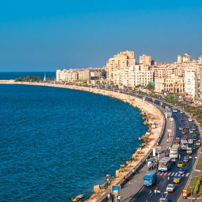 Alexandria – seaside town, top destinations in Egypt, Travelive luxury packages