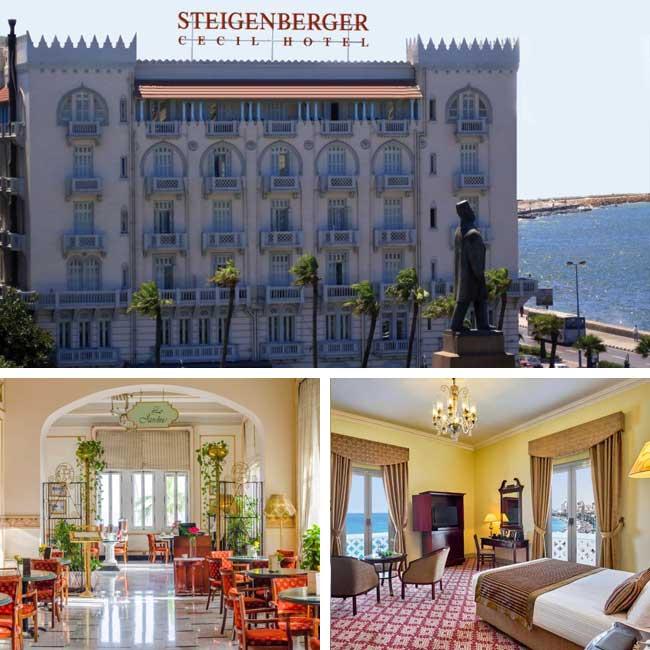 Steigenberger Cecil Hotel - Alexandria Luxury Hotels, Travelive
