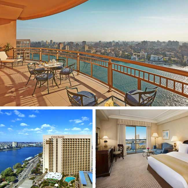 Conrad Cairo - Hotels in Cairo, Travelive