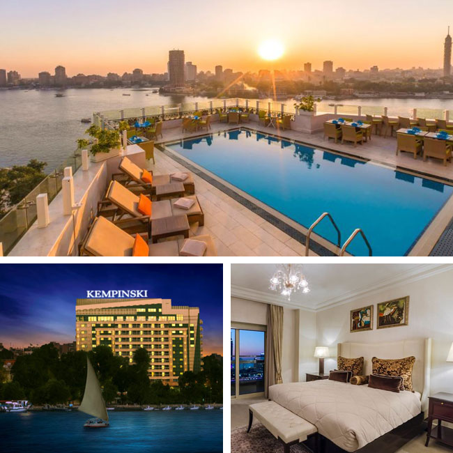 Kempinski Nile Hotel Garden City Cairo - Hotels in Cairo, Travelive