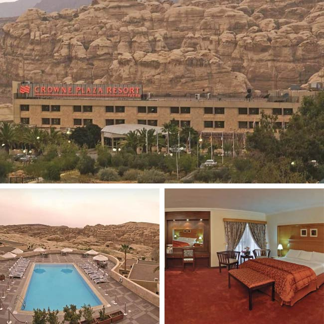 Crowne Plaza Petra - Jordan Hotels, Travelive
