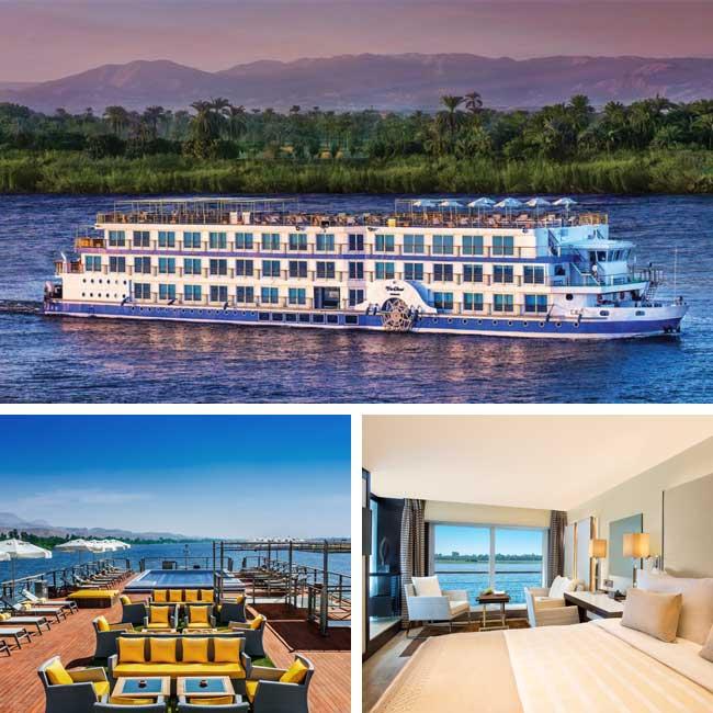Oberoi Philae - Nile river cruise, Travelive